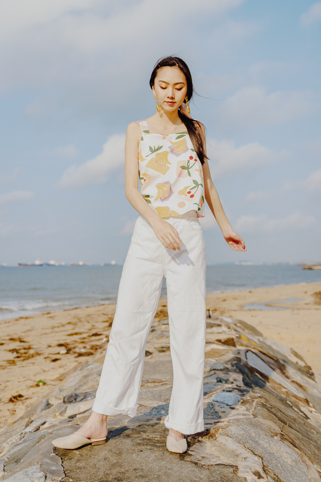 FRUITS REVERSIBLE TOP (WHITE)