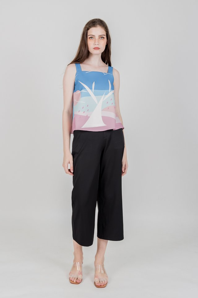 APPLE GARDEN TOP (PINK)