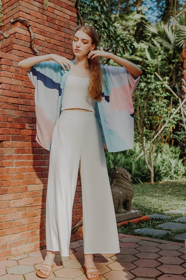 ALEX WIDE LEG PANTS (WHITE)