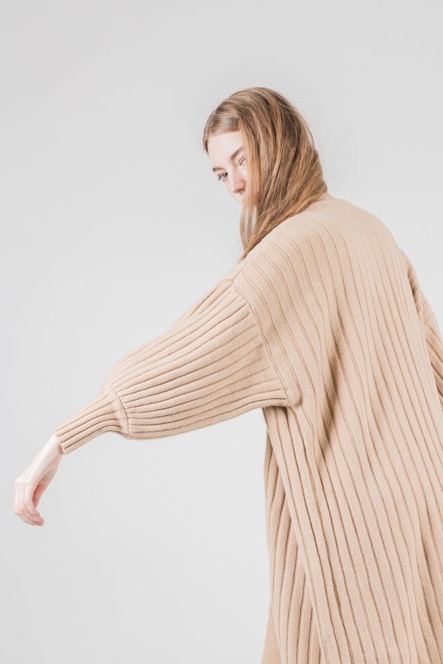 MADISON KNIT OUTERWEAR (NUDE)