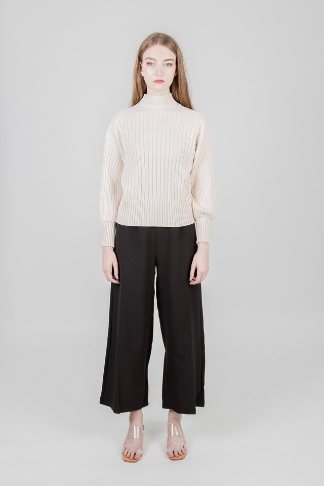 EVA KNIT SWEATER (CREAM)