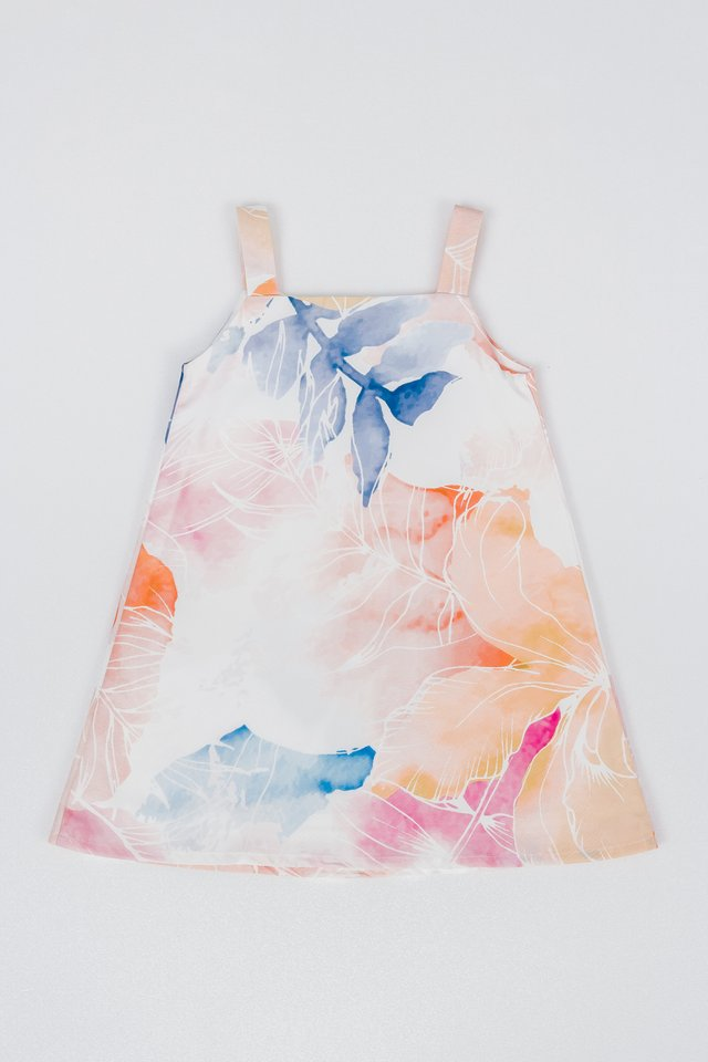 LITTLE NADIA REVERSIBLE DRESS