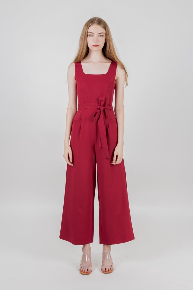 IORA JUMPSUIT (RED)