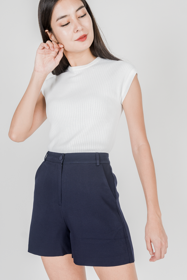 YANA KNIT TOP (WHITE)
