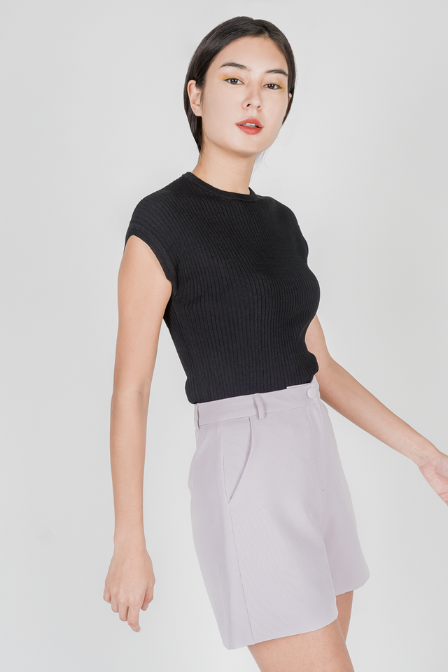 YANA KNIT TOP (BLACK)
