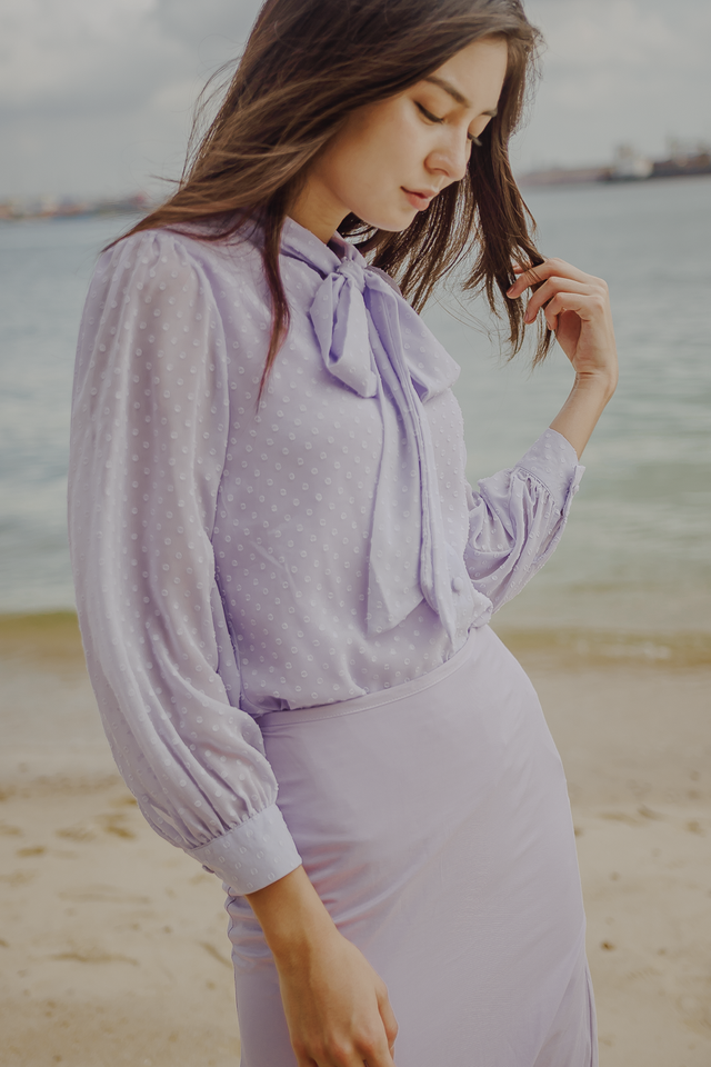 ELDORA BOW TOP (LILAC)