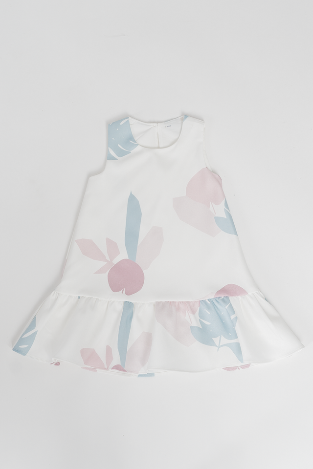 APPLE OF MY EYE DRESS (WHITE)